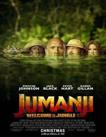Jumanji Welcome to the Jungle (2017) Dual Audio 720p