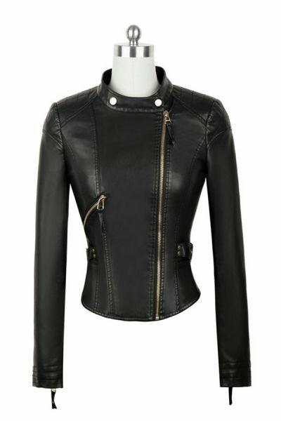 Black-leather-slimfit-style
