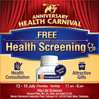 Vita Life 70th Anniversary Health Carnival