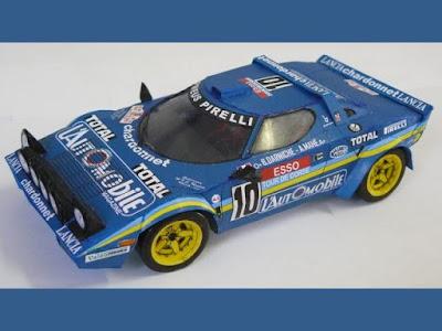 1981 Lancia Stratos Paper Model