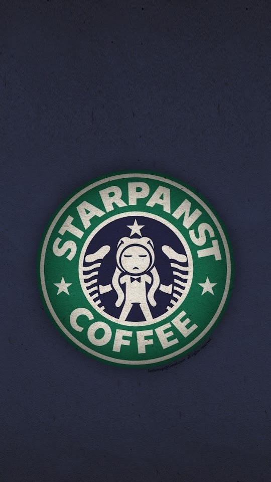 Starpanst Coffee Logo   Galaxy Note HD Wallpaper