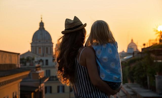 O que fazer com crianças em Roma