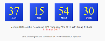 SPT Tahunan 2017