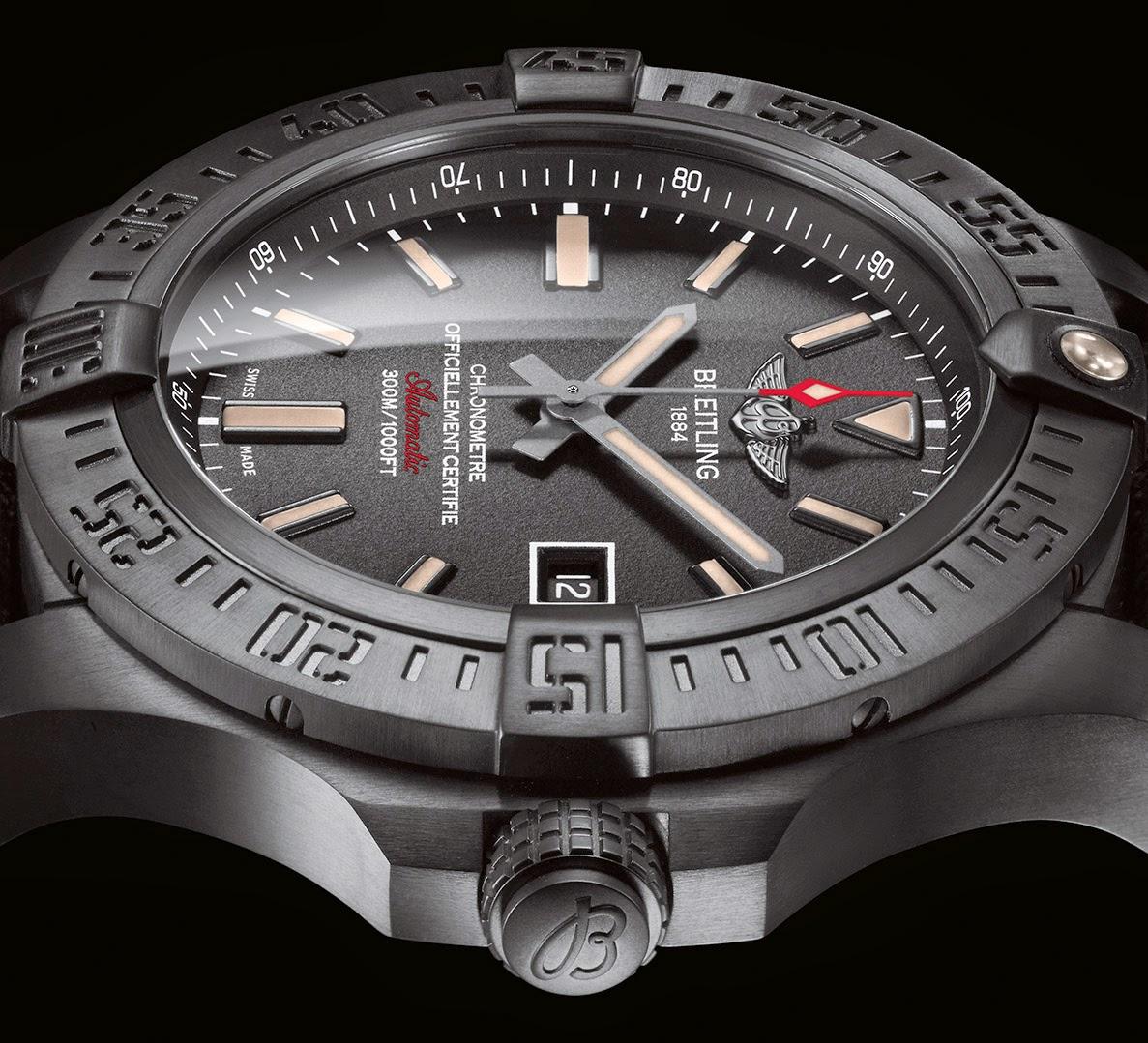 f66a9569d Relojes: Breitling Avenger Blackbird