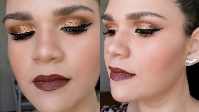 Maquiagem Bronze e Marrom