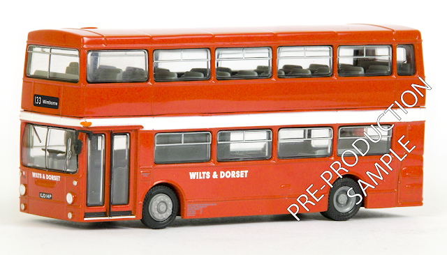 EFE PRE-PRO SAMPLE 25813 - Leyland DMS 1 Door - Wilts & Dorset Registration number KJD 14P, fleet number 1932. Working route 133 to Wimborne. Scheduled for a July Release. RRP £34.50
