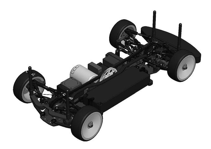 Awesomatix A800 com motor centralizado