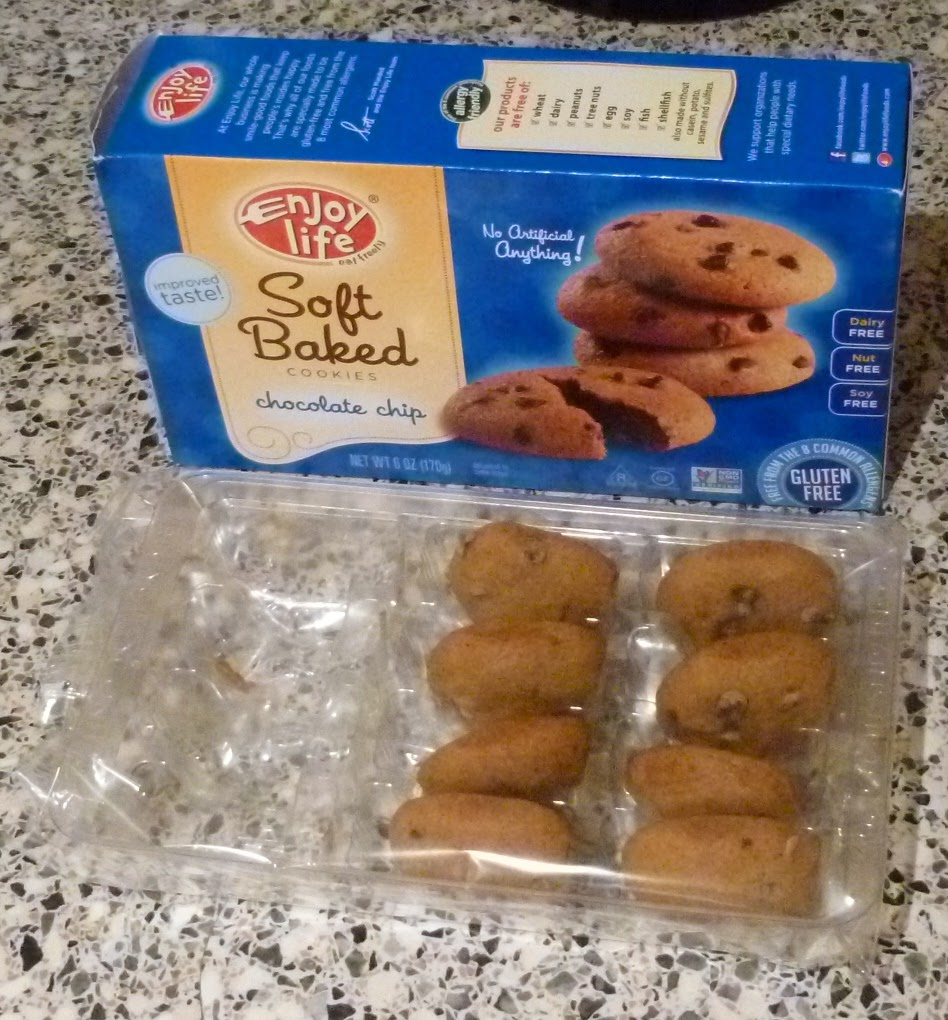 Enjoy Life gluten free cookies