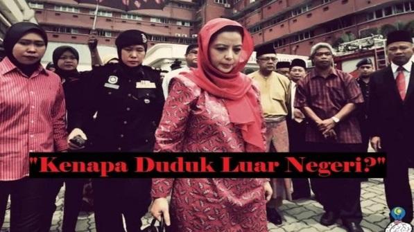 """""""Kalau Sayang Malaysia, Kenapa Duduk Luar Negeri?"""" – Jawapan Permaisuri Johor 'Berdebat' Dalam FB Memang Win!!"""