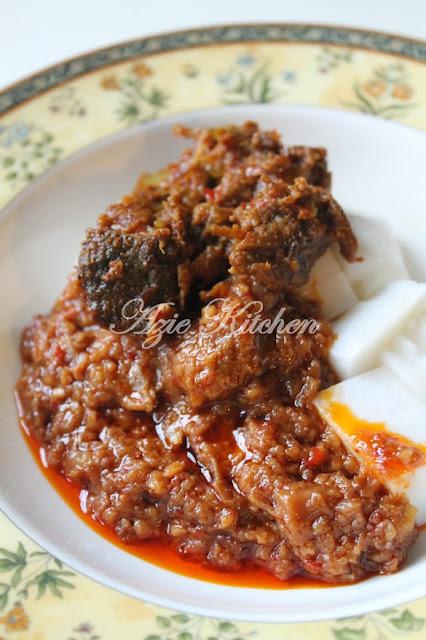 Kuah Kacang Daging Istimewa Azie Kitchen