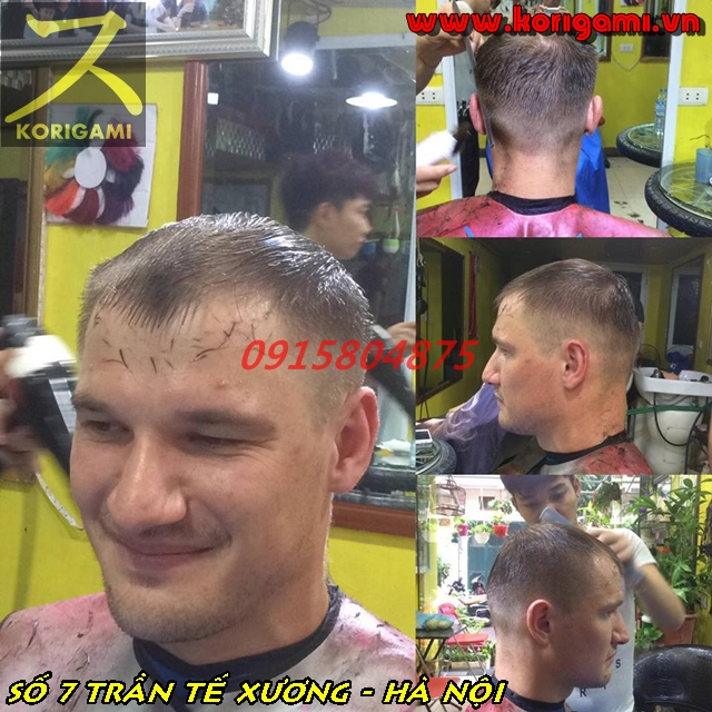 [HANOI MASSIVE] BEST HAIR CUT FOR MEN IN HANOI, BA DINH DISTRICT