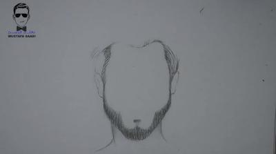 تعلم رسم الشعر خطوة بخطوة