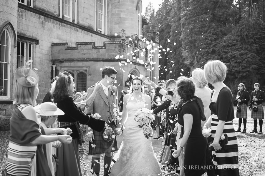 Scottish Wedding Photographer Edinburgh Melville Castle