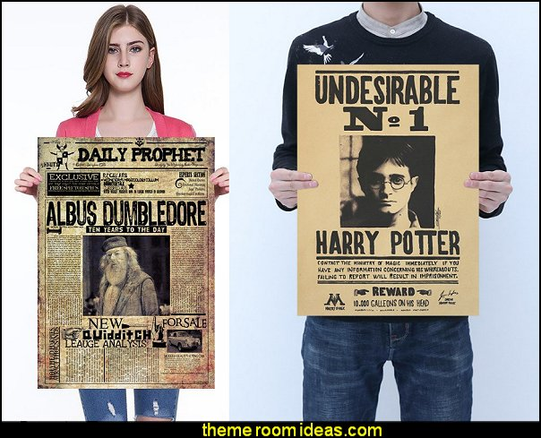 Harry Potter  Wanted Poster   Harry potter themed bedrooms - harry potter bedroom decor - Harry Potter Room Decor - Harry Potter Bedroom Ideas - Harry Potter  bedding - Harry Potter wall decals - Harry Potter wall murals - harry potter furniture - harry potter party supplies - castle decorating props - harry potter party decorations - Magical Hogwarts House Theme - harry potter home decor