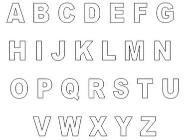 abecedário letras do alfabeto para imprimir como fazer