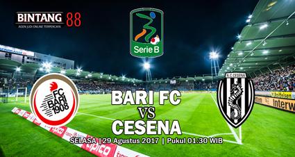 Prediksi Bari vs Cesena 29 Agustus 2017