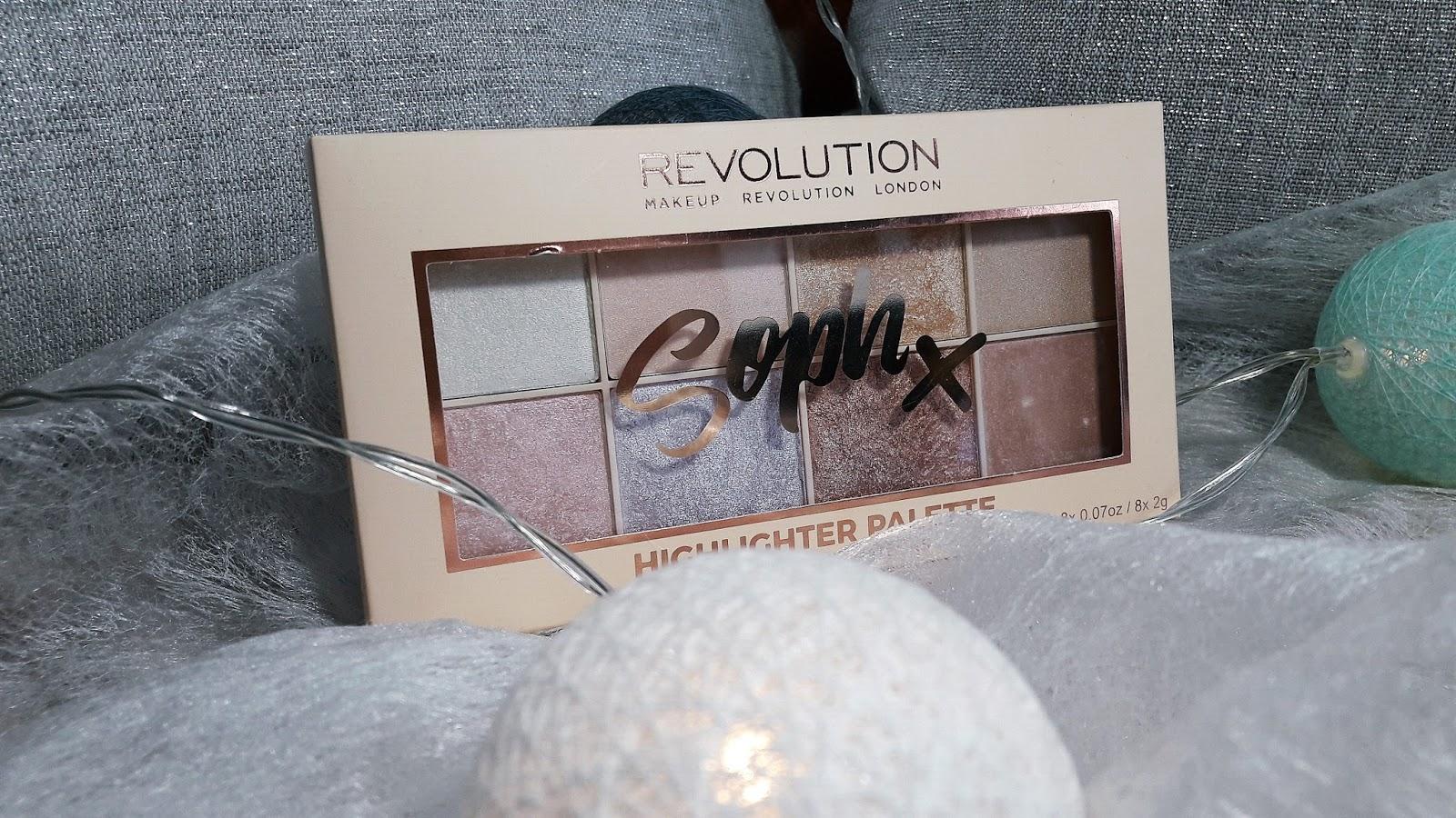 Makeup Revolution SophX Highliter Palette
