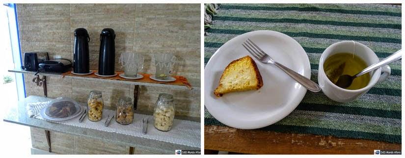 Chá da tarde na Pousada Solar das Gerais: hospedagem em Tiradentes