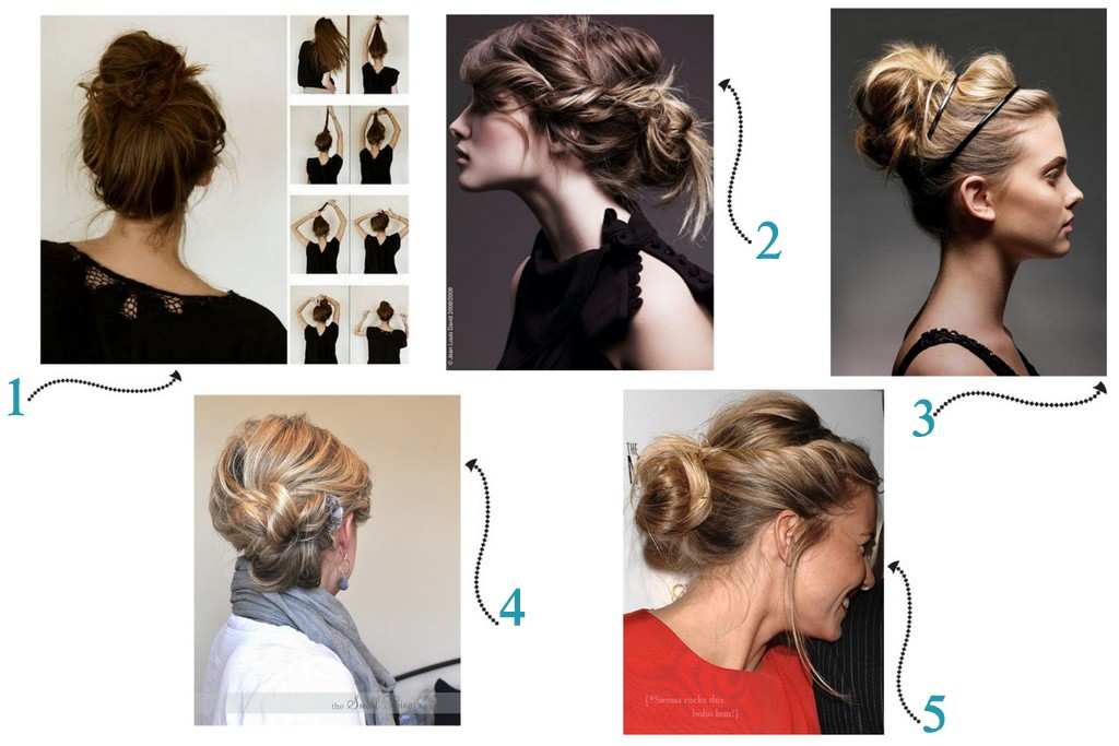 Number Fifty-Three: 5 Simple Updos For Everyday Hair