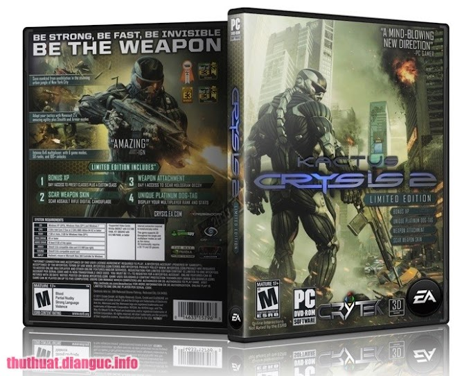 Download Game Crysis 2 Full Crack Fshare