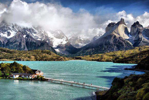 Lake Pehoe Chile Most Beautiful Lakes in the World Adventure Travel