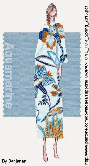 AGUAMARINA Fashion Color Report SS2015