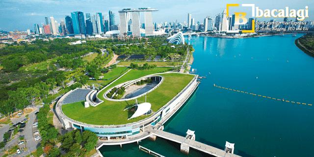 Marina Barrage, Tempat Wisata di Singapura : tempatwisata.biz.id