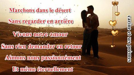 Poèmes Damour Avec Image Romantique Mot Damour