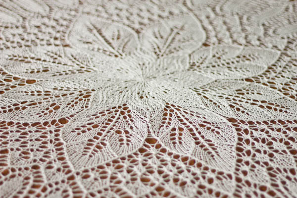 knit big doily