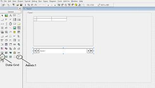 Components ADODC dan DataGrid Untuk Menampilkan Database Ms. Access