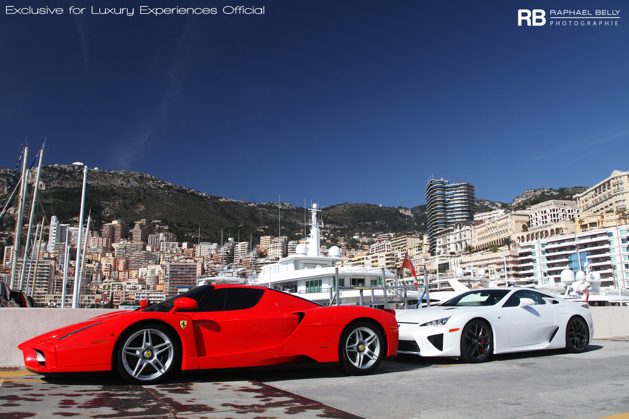 Passion For Luxury : Monaco super cars photography by Raphaël Belly