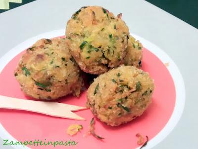 Polpette di zucchine - Ricetta con le zucchine