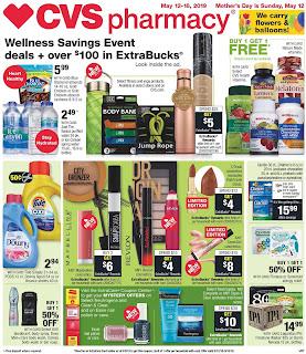 CVS Weekly Ad Valid May 12 - 18, 2019