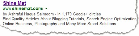 indexing a blog link