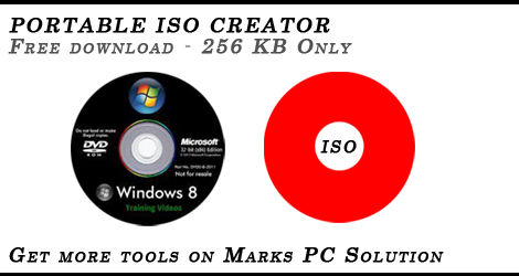 Fast Download: Download Portable ISO Creator 256 KB Only!