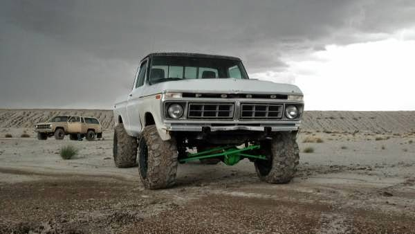 Ford F Pickup Truck