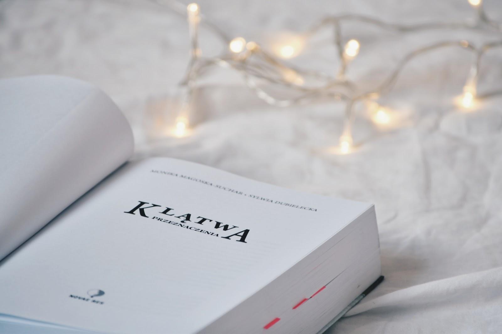 Klątwa przeznaczenia, czytam bo polskie, polskie fantasy, książka,