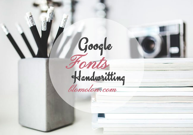 google-fonts-handwritting