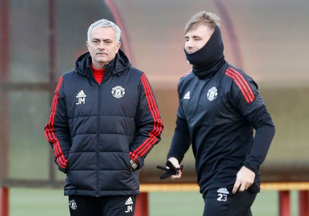 Luke Shaw has made just three appearances for Manchester United this season