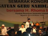 Di Kongres Pergunu, Rhoma Irama Ingatkan Pentingnya Ukhuwah Islamiyah