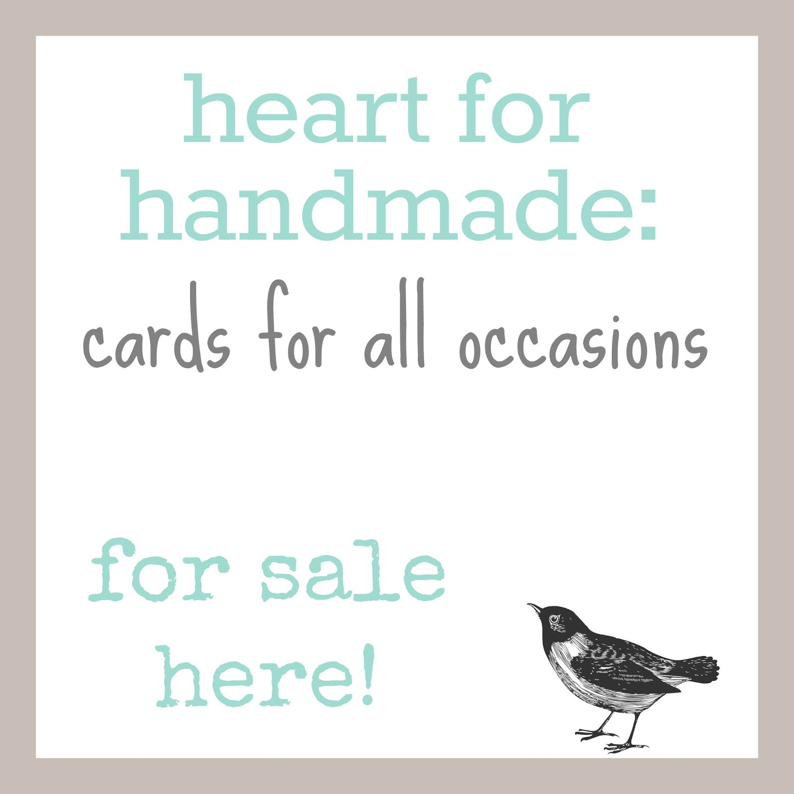 Buy my cards here: