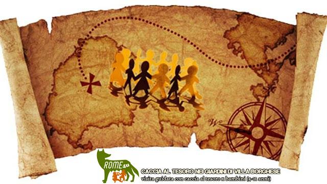Caccia Al Tesoro Bambini 5 6 Anni : Rome uஇ roma e lazio te associazione culturale caccia al