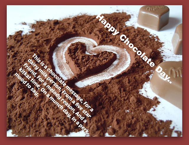Happy Chocolate Day 2017 Sms