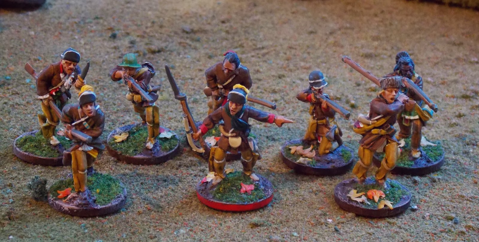 Wargaming In 28 Mm And Sometimes Smaller Conquest