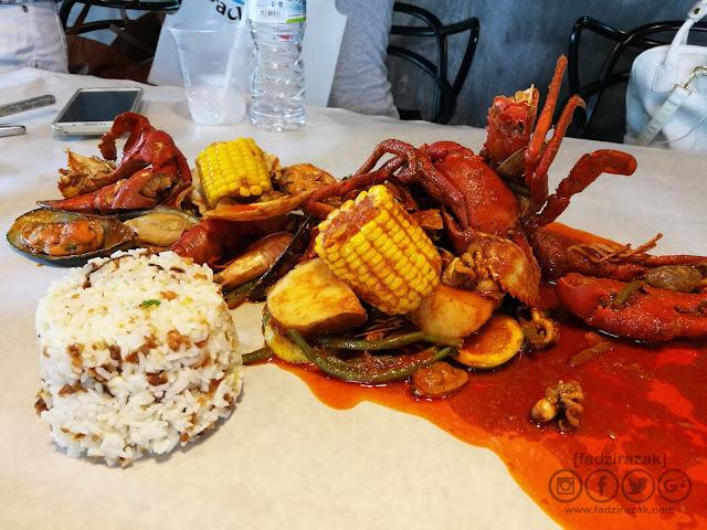 Seafood Set with Signature Southern Bang