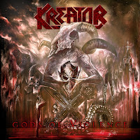 Kreator album cover for Gods of Violence