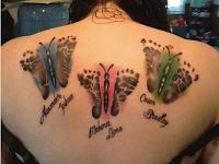 tatuaje de hijos para madre