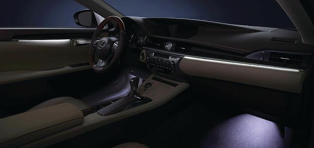 Nội thất Lexus ES 350 là một trong những niềm tự hào của người Nhật