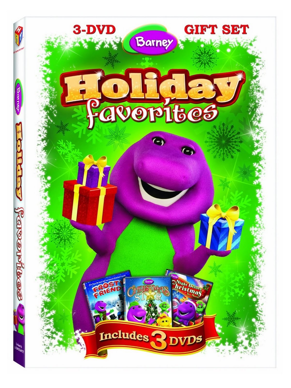 Barney A Very Merry Christmas The Movie Dvd.Thanks Mail Carrier Thomas Friends Barney Angelina