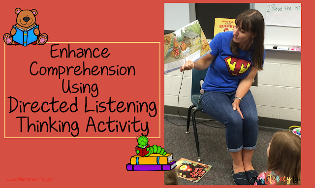 Using Directed Listening Thinking Activity helps students with comprehension skills and strategies. These simple steps can be used with almost any book!